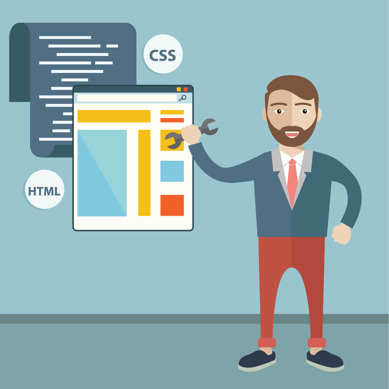 HTML Tutorial : HTML, CSS & Javascript for Beginners